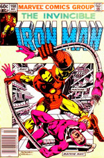 Invincible Iron Man #168