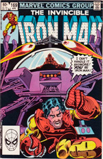 Invincible Iron Man #169