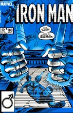Invincible Iron Man #180