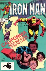 Invincible Iron Man #184