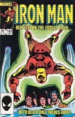 Invincible Iron Man #185