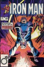 Invincible Iron Man #186