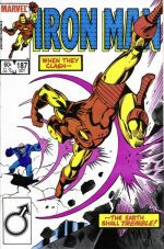 Invincible Iron Man #187