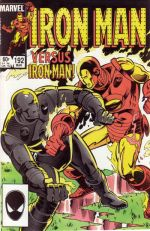 Invincible Iron Man #192