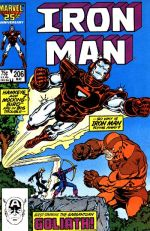 Invincible Iron Man #206