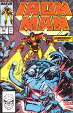 Invincible Iron Man #245