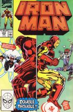 Invincible Iron Man #255
