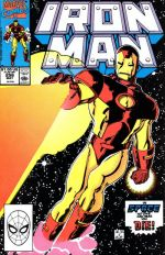 Invincible Iron Man #256