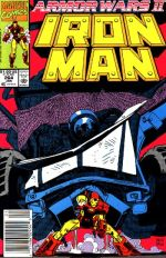 Invincible Iron Man #264