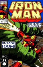 Invincible Iron Man #271