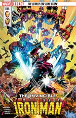 Invincible Iron Man #596