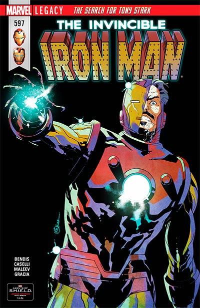 Invincible Iron Man #597