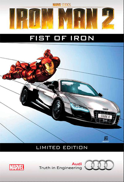 Iron Man 2: Fist of Iron #1