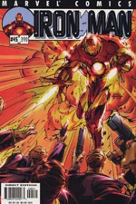 Invincible Iron Man #45