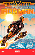 Invincible Iron Man #20