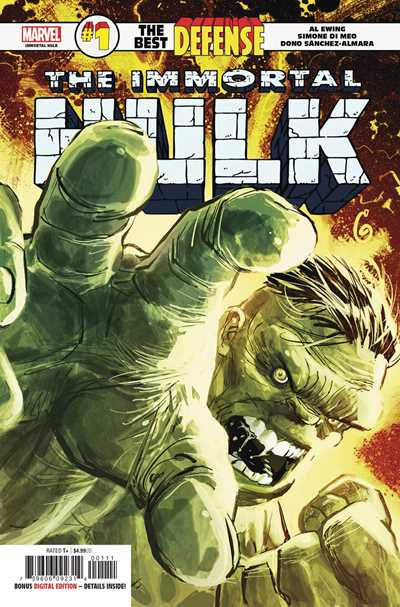 Immortal Hulk: The Best Defense #1