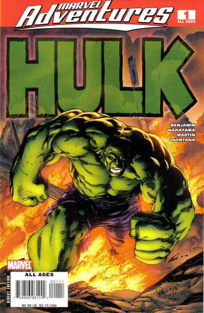 Marvel Adventures Hulk #1