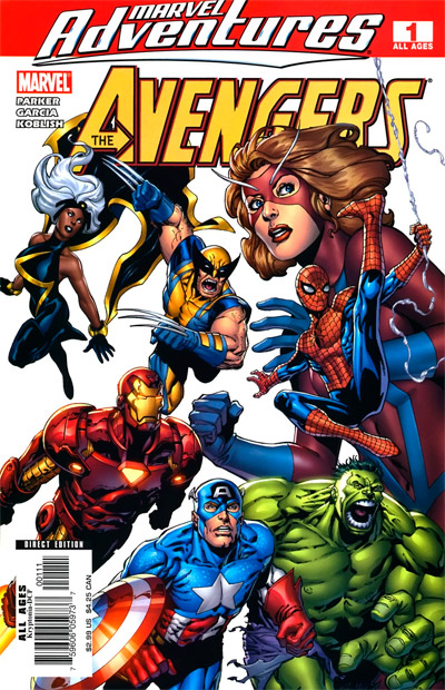 Marvel Adventures The Avengers #1