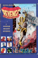 Marvel Graphic Novel #17