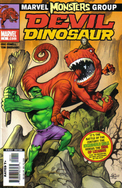 Marvel Monsters: Devil Dinosaur #1