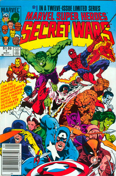 Marvel Super-Heroes Secret Wars #1