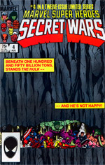 Marvel Super-Heroes Secret Wars #4