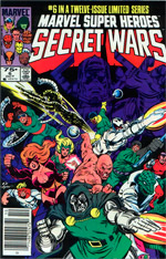 Marvel Super-Heroes Secret Wars #6