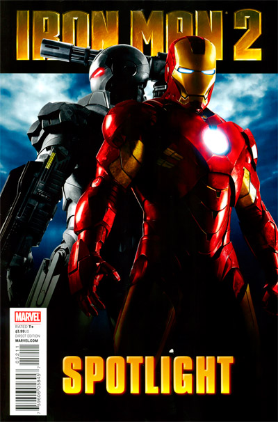 Marvel Spotlight Iron Man 2 #1