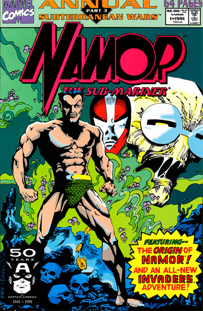 Namor The Sub-Mariner Annual #1