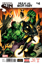 Original Sin 3.n - Hulk vs Iron Man #4