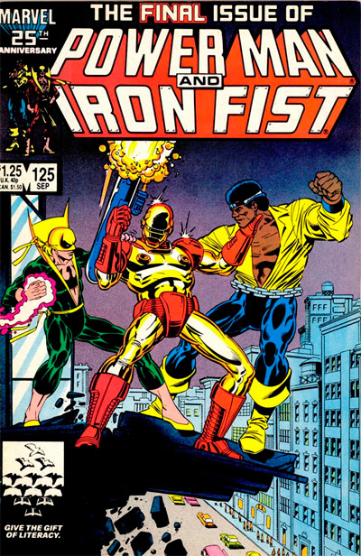 Power Man and Iron Fist #125