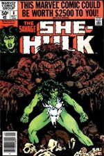 Savage She-Hulk, The #8