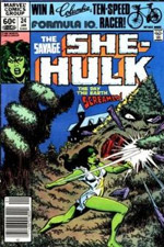 Savage She-Hulk, The #24 cover