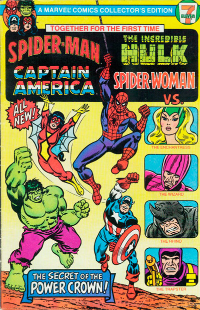 Spider-Man, Captain America, the Incredible Hulk, and Spider-Woman #1