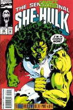 Sensational She-Hulk, The #55 cover