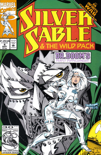 Silver Sable and the Wild Pack #4