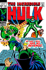 Incredible Hulk #114