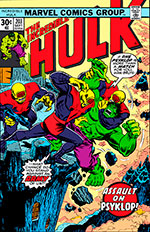 Incredible Hulk #203