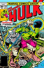Incredible Hulk #209