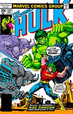Incredible Hulk #218