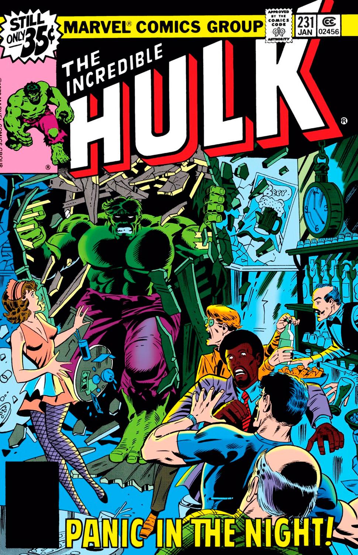 incredible hulk  231 review  jan 1979