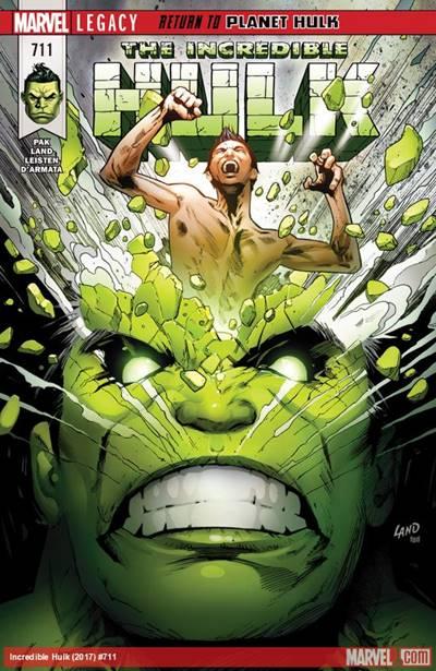 Incredible Hulk (2017 series) #711 cover
