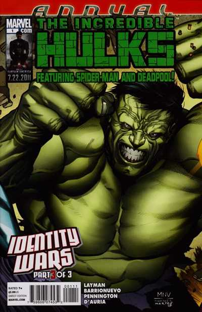 Incredible Hulks Annual, The #1