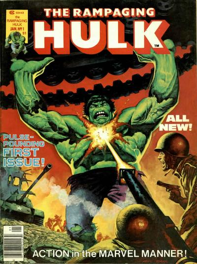 Rampaging Hulk, The / The Hulk! #1