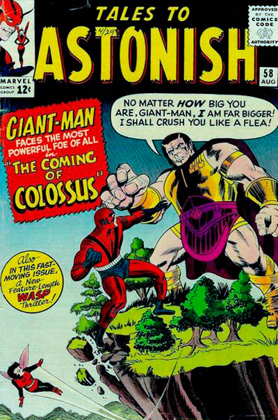 Tales to Astonish #58