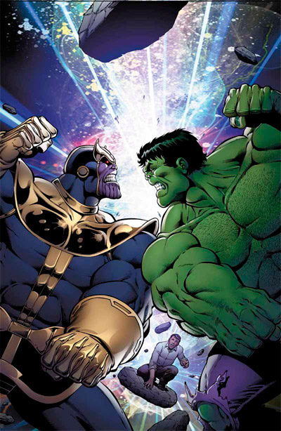 Thanos Vs Hulk #1