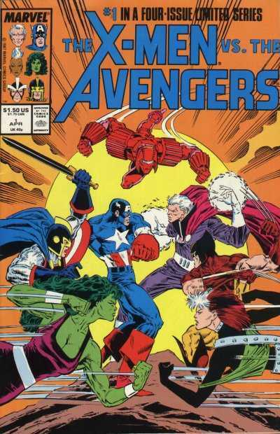 The X-Men vs. the Avengers #1