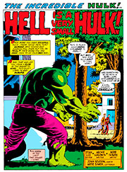 Page #1from Incredible Hulk #154