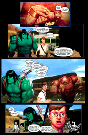 Page #3from Incredible Hulk #602