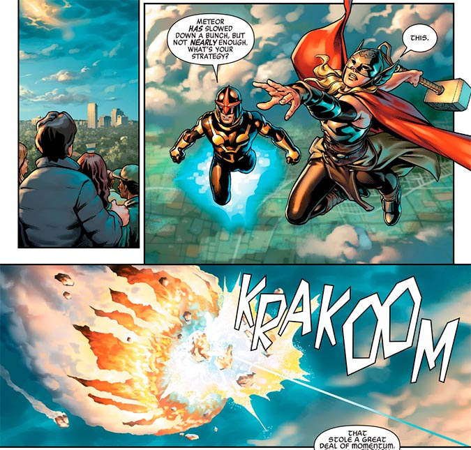 Image from Avengers #672